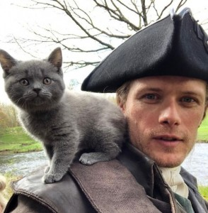 Jamie and Adzo the cat from Season 5