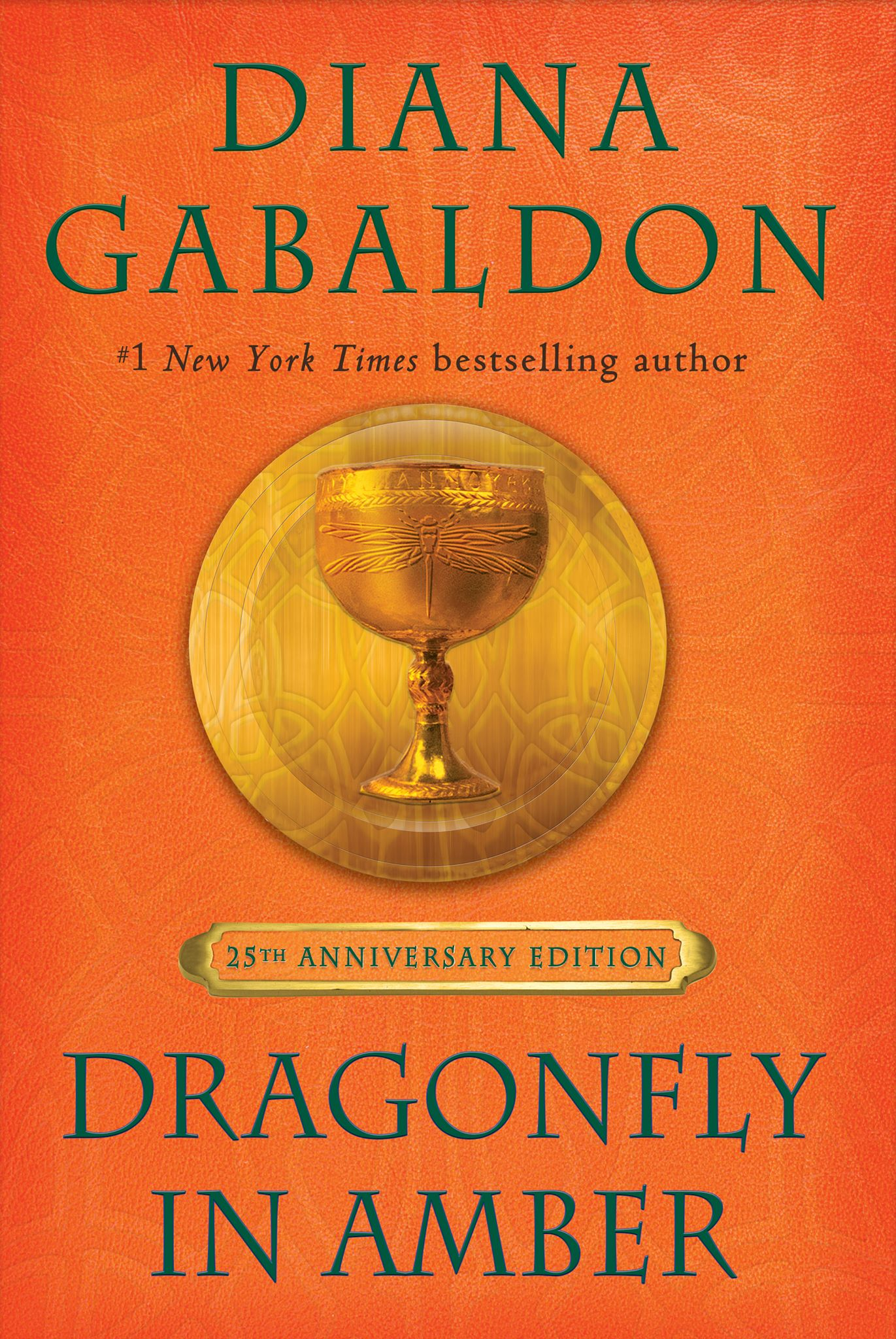 Book Covered : Dianagabaldon dragonfly in amber