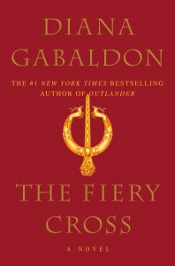 Cover art for THE FIERY CROSS by Diana Gabaldon