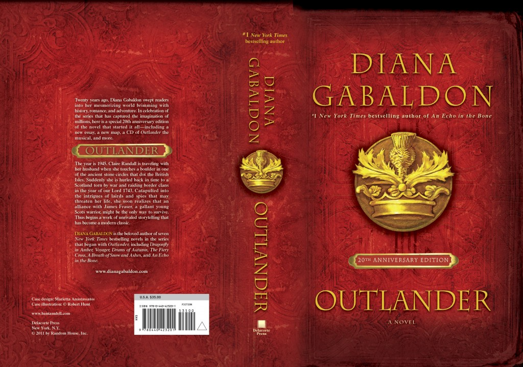 Book Cover Series Questions : Quick question th anniversary edition dianagabaldon