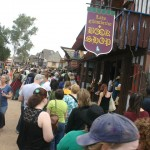 Readers at 2012 Ren Fest