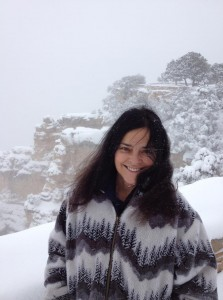 Diana Gabaldon at the Grand Canyon