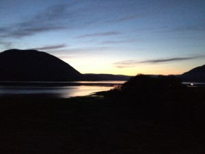 Salmon Arm gloaming
