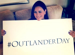 Diana Gabaldon image on World Outlander Day