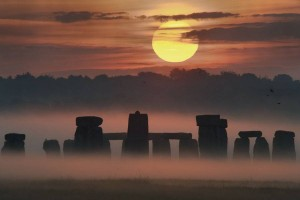 Image of Stonehenge in the Mist. From NASA-APOD.